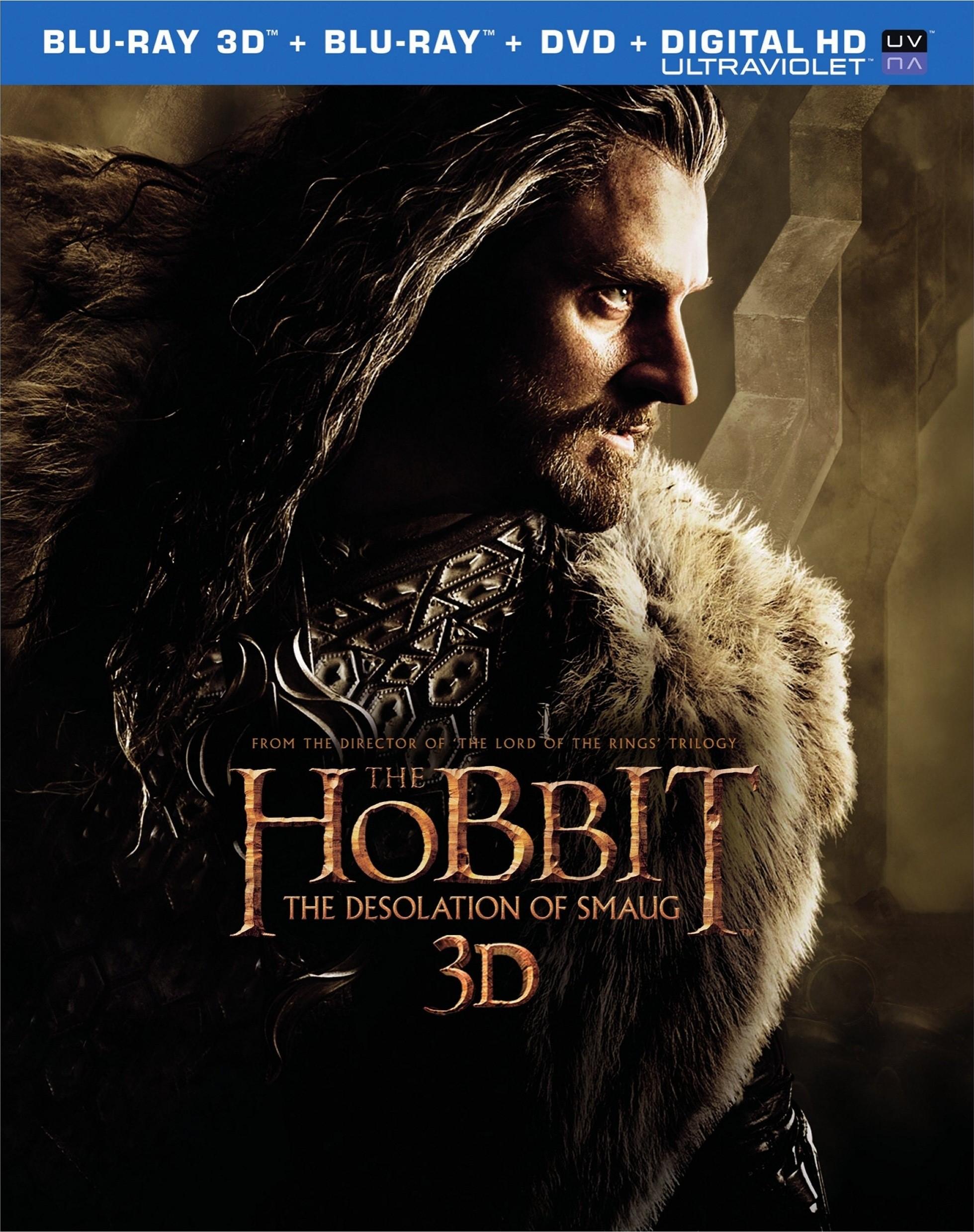 El Hobbit La Desolación De Smaug 3d 2d Blurayperu