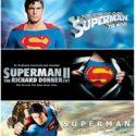 Superman/ Superman 2 /Superman Returns